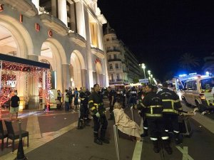 At least 80 dead as truck crashes into crowd in France