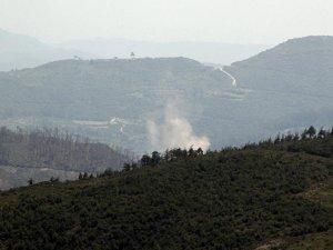 Esed rejimi Türkmendağı'nı bombalıyor