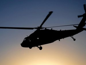Darbe girişiminde bulunanların elindeki Sikorsky düşürüldü
