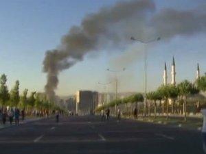 Cumhurbaşkanlığı Külliyesi yakınına atılan bombadan 5 kişi öldü