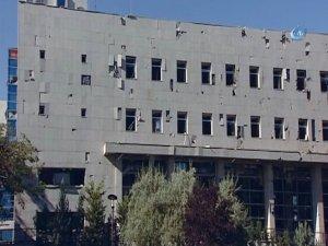 TBMM atılan bombalardan büyük hasar gördü