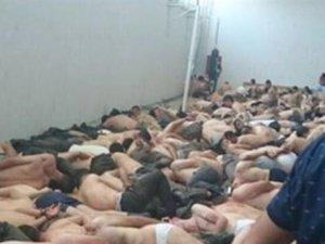 Darbeci askerler PKK'lılar gibi gözaltına alındı