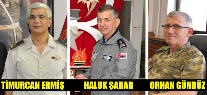 Konya'da 3 general hakkında yakalama kararı
