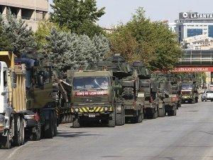 Tanklar Genelkurmay'dan çıkartıldı