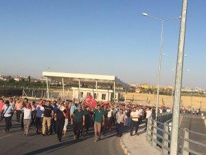 Konya'daki operasyona vatandaşlardan destek