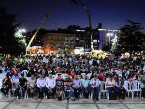 Kastamonu'da vatandaşlar meydanda