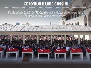 Darbe girişimine direnen 164 kişi hayatını kaybetti