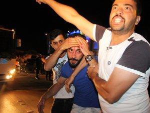 Suriyelilerle Türklerin kavgasına biber gazlı müdahale