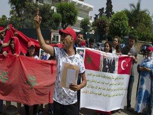 FETÖ'nün darbe girişimine Fas'ta protesto