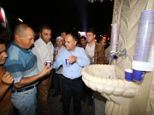 Beyşehir Belediyesi'nden demokrasi nöbeti tutanlara ikram