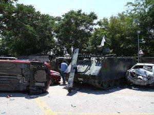 Ankara Emniyeti'ndeki zırhlı araçlar çekildi
