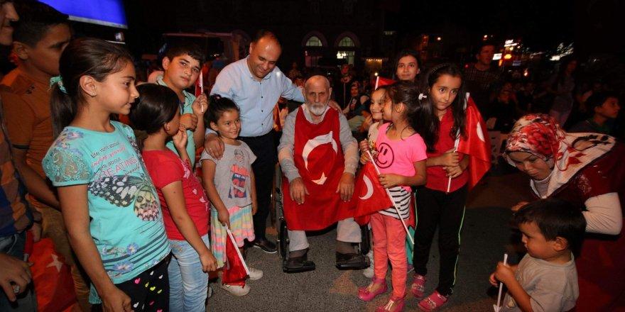 Beyşehir halkı demokrasisine sahip çıkıyor