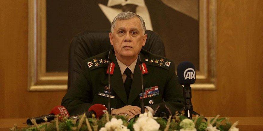 Orgeneral Dündar'ın Genelkurmay Başkanlığına vekalet görevi iptal edildi