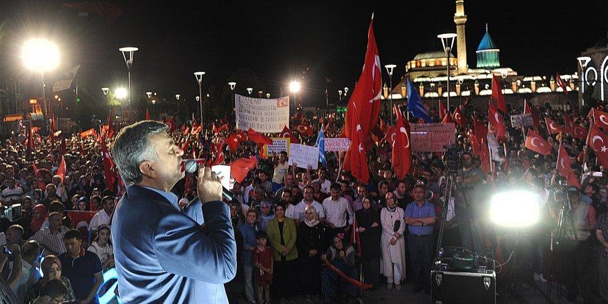 """Akyürek: """"Zannettiler ki Erdoğan..."""""""