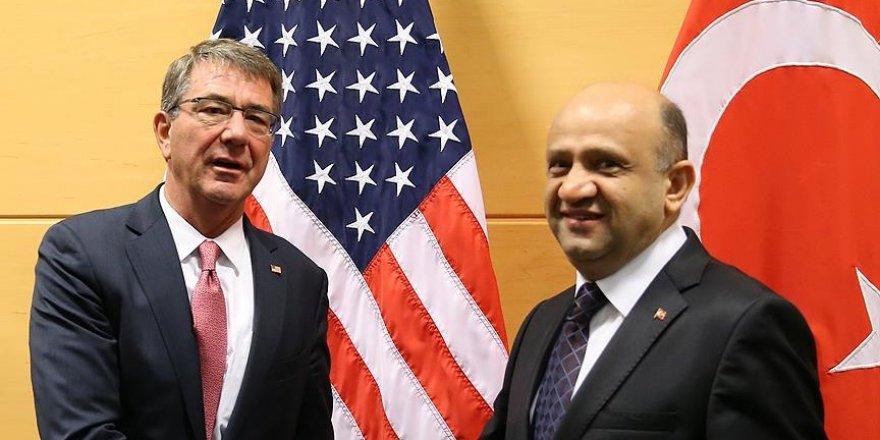 Milli Savunma Bakanı Işık, ABD'li mevkidaşı ile görüştü