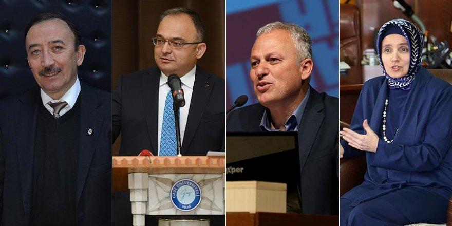 Gazi, Dicle, Yıldız Teknik ve Yalova üniversiteleri rektörleri açığa alındı