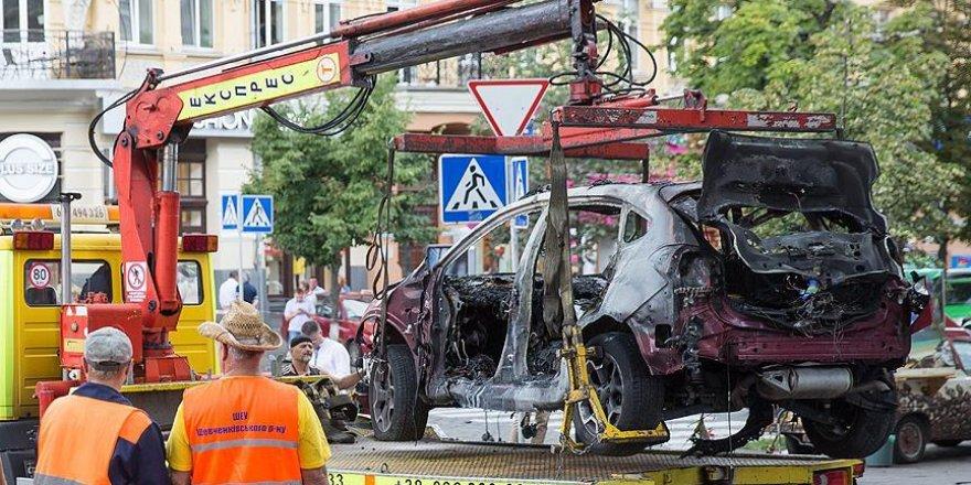 Ukrayna'da arabasına bomba konulan gazeteci öldü