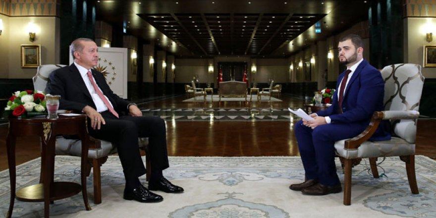Cumhurbaşkanı Erdoğan: 'Darbe girişimini eniştemden öğrendim'