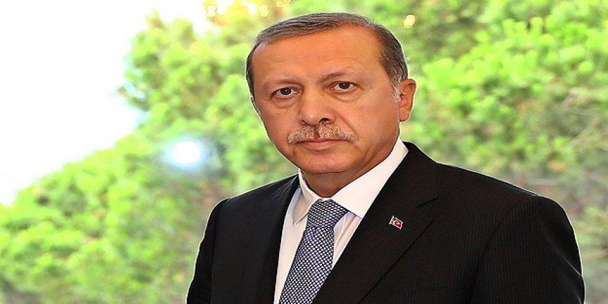 Erdoğan'dan başsağlığı telgrafı