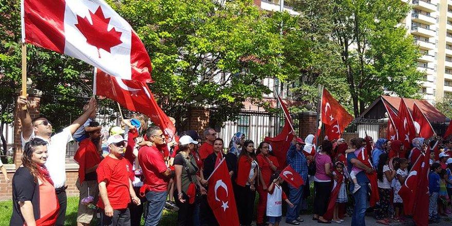 Kanada Müslüman topluluklarından Türkiye'ye destek