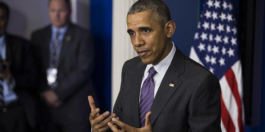 Obama: ABD'li Müslümanlar...