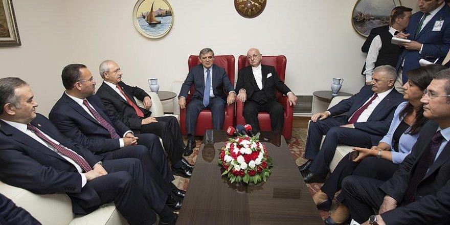 Abdullah Gül: Meclisin bombalanacağını kimse hayal edemezdi