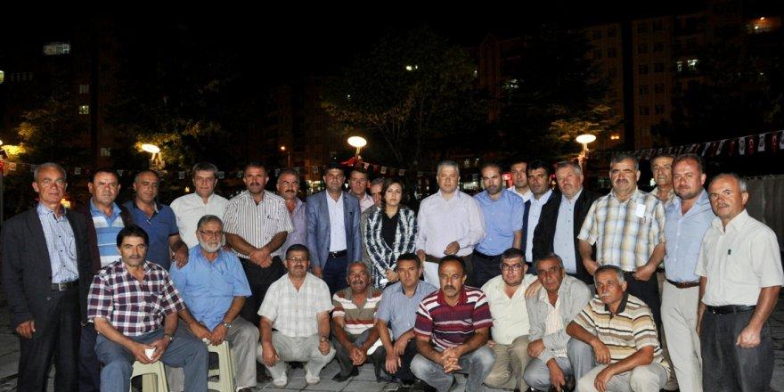 Seydişehir'de 55 muhtardan darbe girişimine tepki