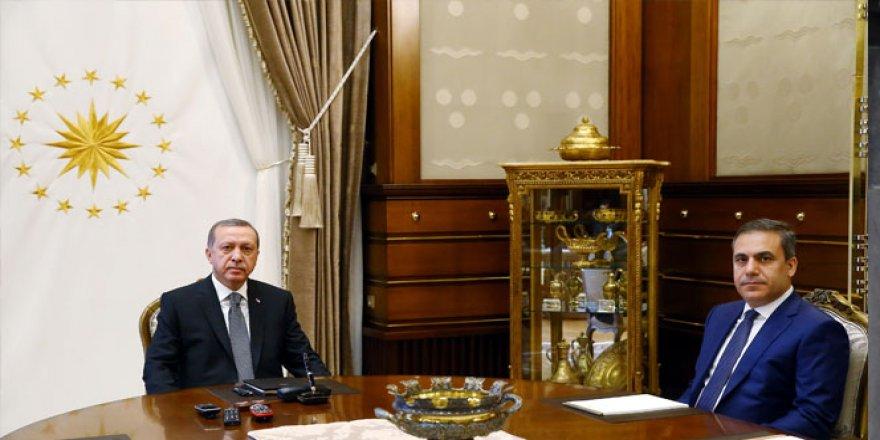Cumhurbaşkanı Erdoğan, Fidan ile görüşecek