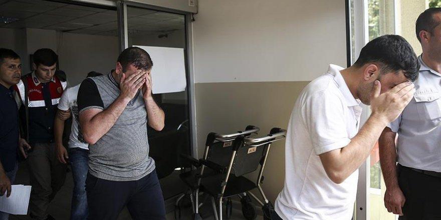 Ankara Adliyesine sevk edilen 210 kişi daha tutuklandı