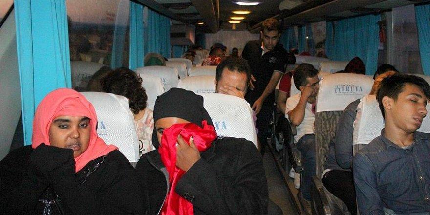 Çanakkale'de 55 yabancı uyruklu yakalandı