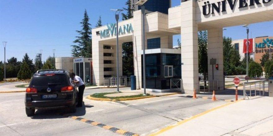Kapatılan Mevlana Üniversitesi'nde işlemler sürüyor