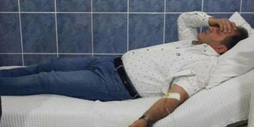 AK Partili milletvekili hastaneye kaldırıldı