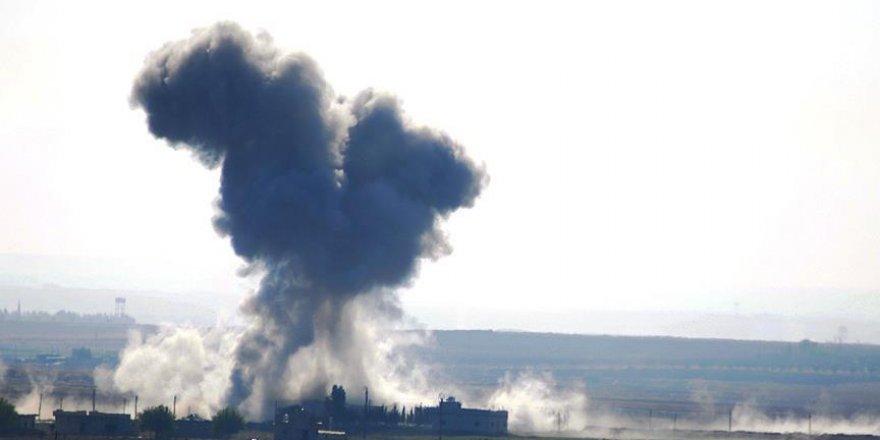 Koalisyon güçlerinin Münbiç'e saldırısında 10 sivil öldü