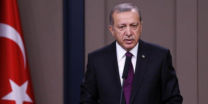 Cumhurbaşkanı Erdoğan'dan Gauck'a taziye mesajı