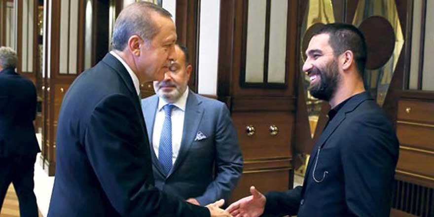 """Erdoğan'dan Arda'ya ''Beni çok mutlu ettin"""""""