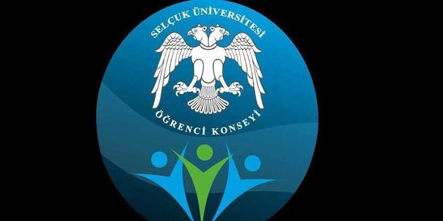Selçuk Üniversitesi Öğrenci Konseyi'nden darbe mesajı