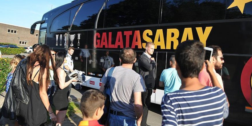 Galatasaray kafilesi Danimarka'da