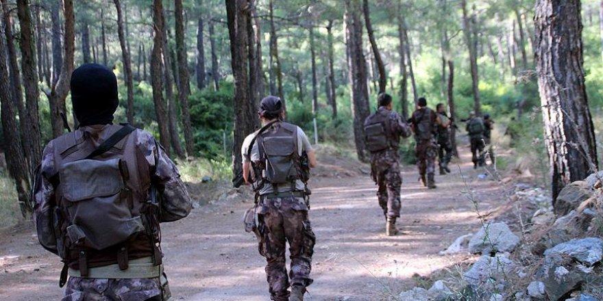 Kaçan darbeci askerler için Cennet Koyu'nda arama başlatıldı