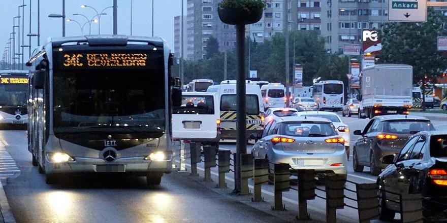 İstanbul'da ücretsiz toplu taşıma süresi uzatıldı