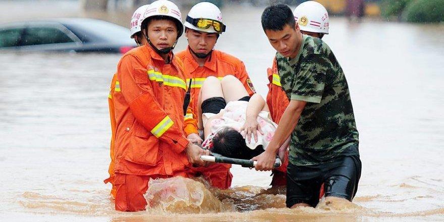 Çin'deki sel ve heyelanlarda ölü sayısı 130'a yükseldi