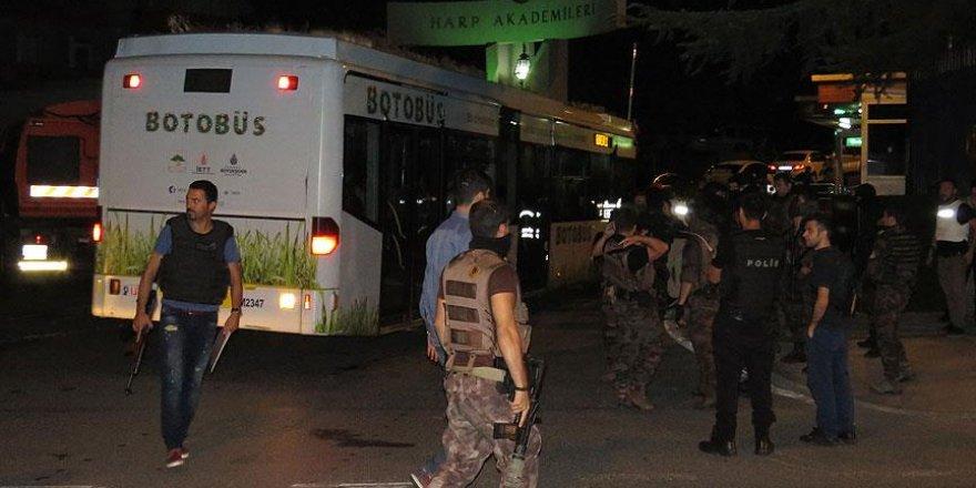 Harp Akademileri'ne düzenlenen operasyonda 40 kişi gözaltında