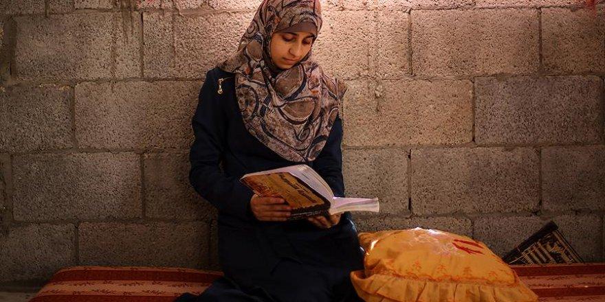 İsrail saldırıları Gazzeli genç kızın hayallerini yıkamadı