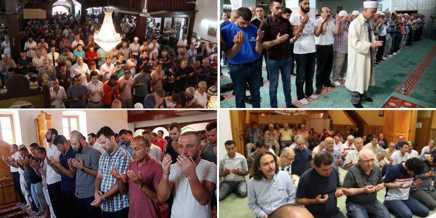 Müslümanlar Türkiye için tek yürek oldu