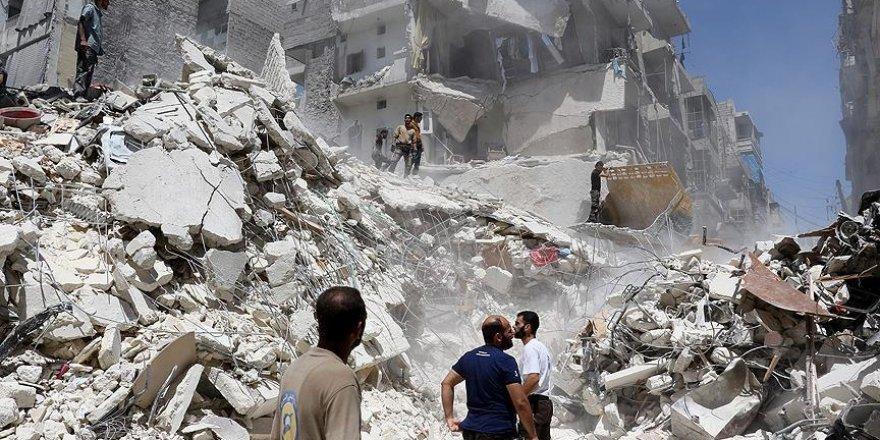 Halep'e varil bombalı saldırı: 20 ölü, 25 yaralı