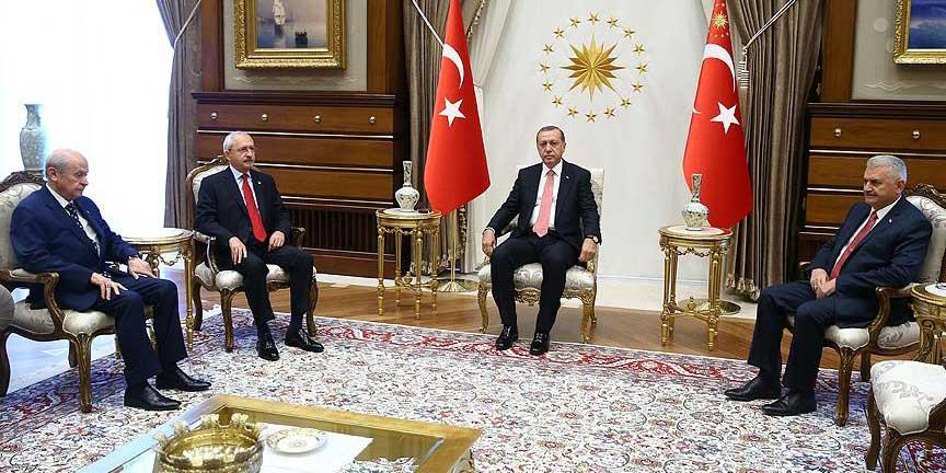 Cumhurbaşkanı Erdoğan'dan liderlere teşekkür
