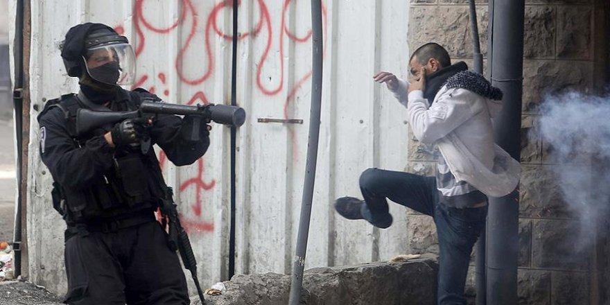 Kudüs'te çıkan olaylarda 30 Filistinli yaralandı