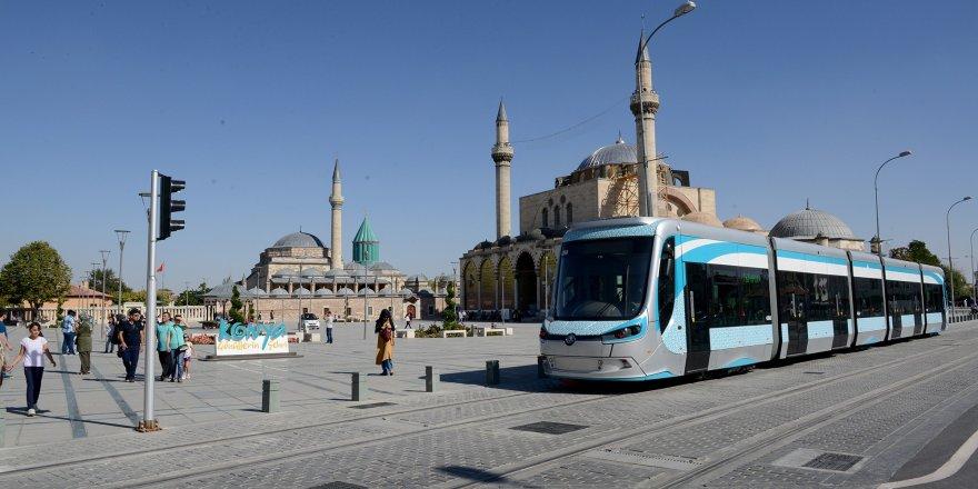 Konya'da ikinci bir duyuruya kadar toplu ulaşım ücretsiz