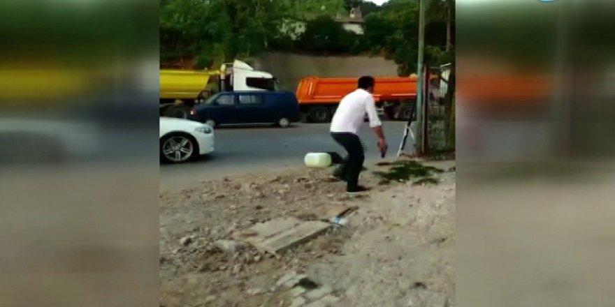 Şehit polisin darbeciler tarafından vurulma anı kamerada