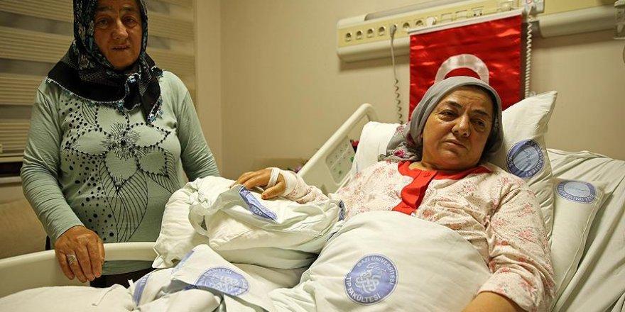 'Kocamı kaybettim, yaralandım ama mutluyum'
