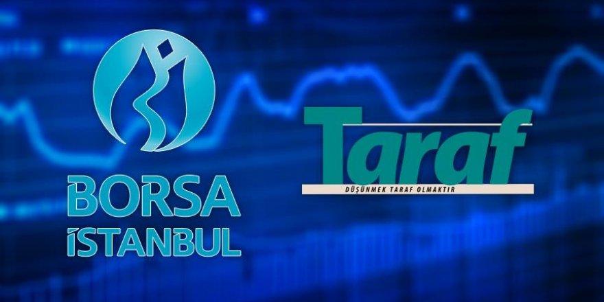 Taraf gazetesi borsada işleme kapatıldı